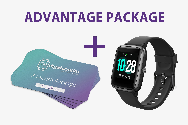 DiyetSaatim + 3 Month Package